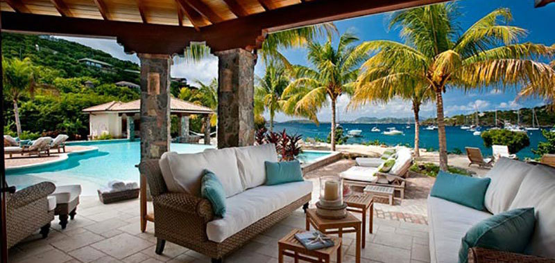 A La Mer Villa. Great Cruz Bay St. John