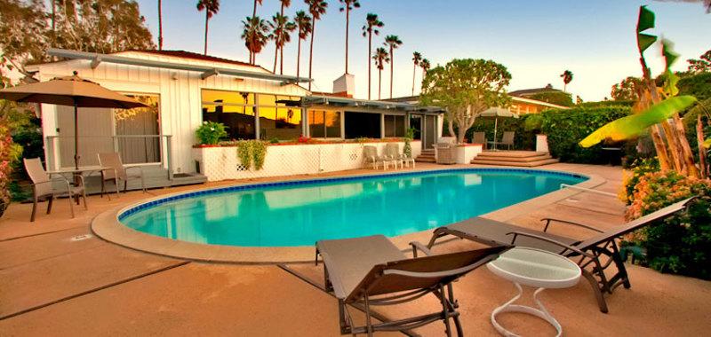 La Jolla Poolside Villa Rental