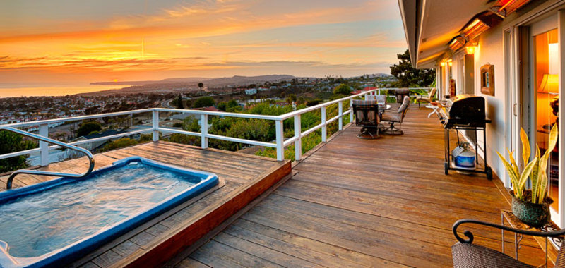Panoramic Views in San Clemente Villa Rental
